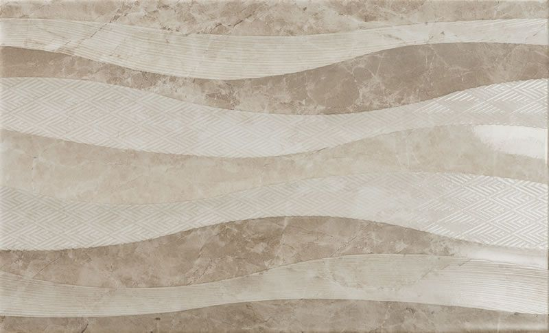 decor Eleganza Waves Taupe 33,3x55
