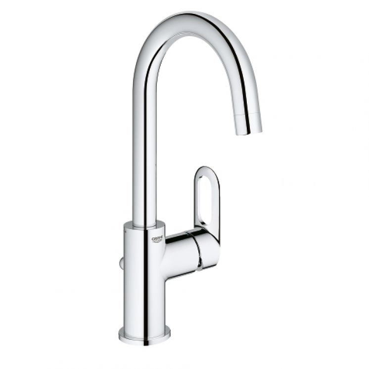 "BauLoop Single-lever basin mixer 1/2"" L-Size, 23763000"