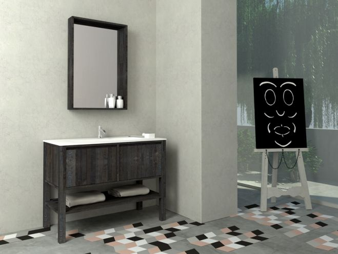 savvopoulos country 106cm έπιπλο μπάνιου - bathroom-shop.gr